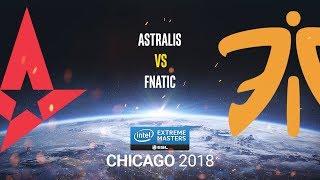 Astralis vs fnatic - IEM Chicago 2018 - map1 - de_dust2 [ceh9 & CrystalMay]