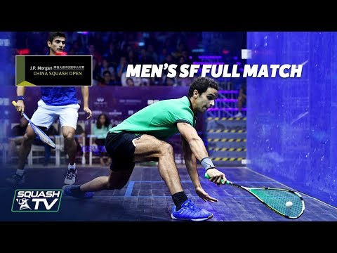 Squash: Men's Semi-Finals - China Open 2018 - Full Matches