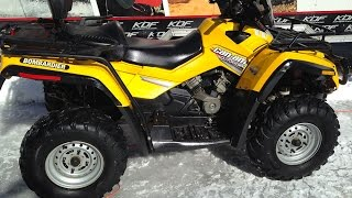 6. Can Am Outlander 800 Max XT 2006