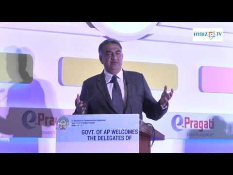 Shailender Kumar MD Oracle India E pragati Launch