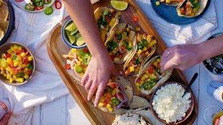 Chef Esdras Ochoa Makes Grilled Swordfish Tacos | Tastemade Collaborations by Tastemade