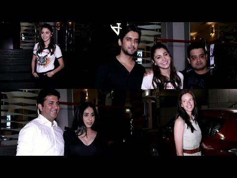 Anushka Sharma & Kalki Koechlin Spotted During Screening