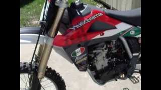 8. Husqvarna TC 510 running for ebay