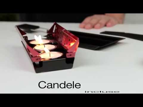 Kuhn Rikon Miniset per raclette Candle Light (italiano)