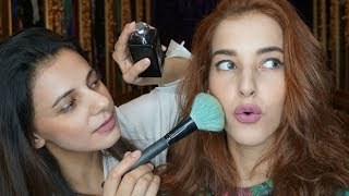 Video SISTER DOES MY MAKEUP ! / MAKEUP KE PASAR  (bahasa) MP3, 3GP, MP4, WEBM, AVI, FLV Maret 2019