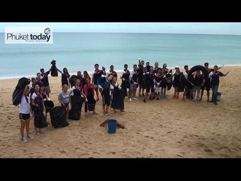 Beach cleanups, turtle awareness, giant clams and clown fish