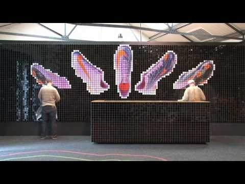 Nike Sportswear London 1948   Stadiums Installation by WilsonBrothers