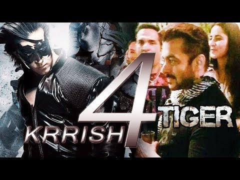 Hrithik Roshan's Krrish 4 Shoot Starts In 2018, Salman-Katrina's Tiger Zinda Hai WRAP Party