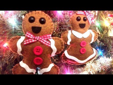 Gingerbread Man Plush Tutorial