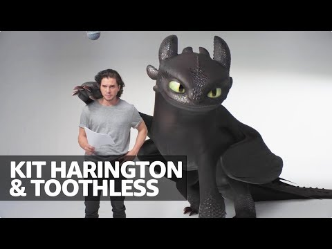 Kit Harington s Audition Tape for How to Train Your