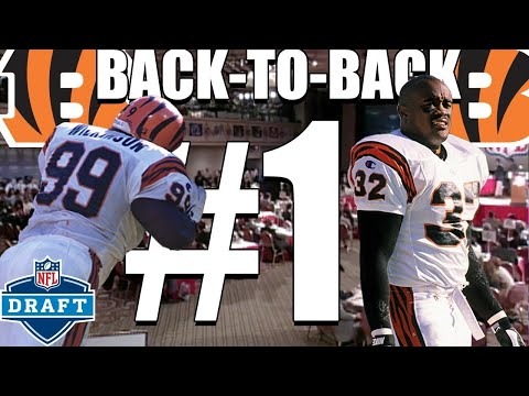 Video: The Bengals Back-to-Back First Overall Picks Did Not Go as Planned | NFL Draft Story