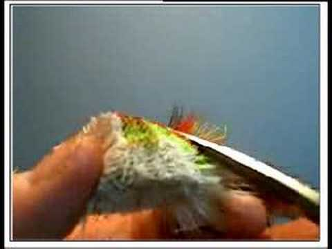 Trimming deer hair bass bug-Part I