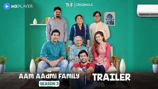 The Aam Aadmi Family Season 3 | Official Trailer | MX Player | A TVF Original Series | TVF Play
