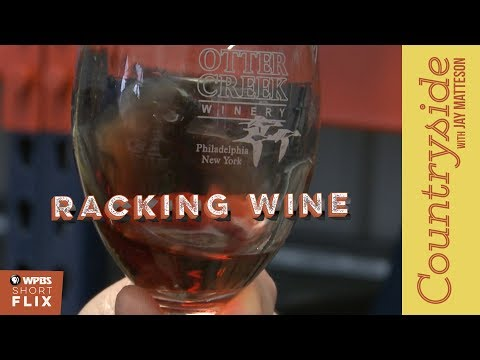Racking Wine | Countryside with Jay Matteson | WPBS Short Flix