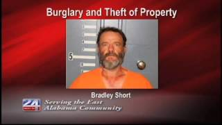 Man Arrested on Theft and Burglary Charges
