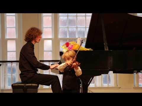 Miloš on Violin (4): Hunters' Chorus by  C. M. Von Weber
