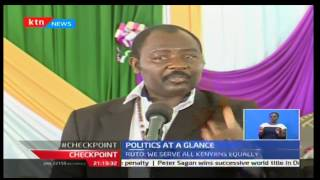 CheckPoint: DP William Ruto defends the government on claims of discrimination 16/10/2016