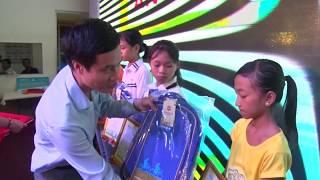 Bảo Việt Nhân Thọ Uông Bí: Trao học bổng An sinh giáo dục - Xe đạp đến trường
