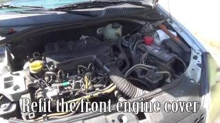 How to clean an EGR solenoid valve and the air inlet metal tube with an oven cleaner on a Renault Clio 2 1.5 dci. EGR valve...