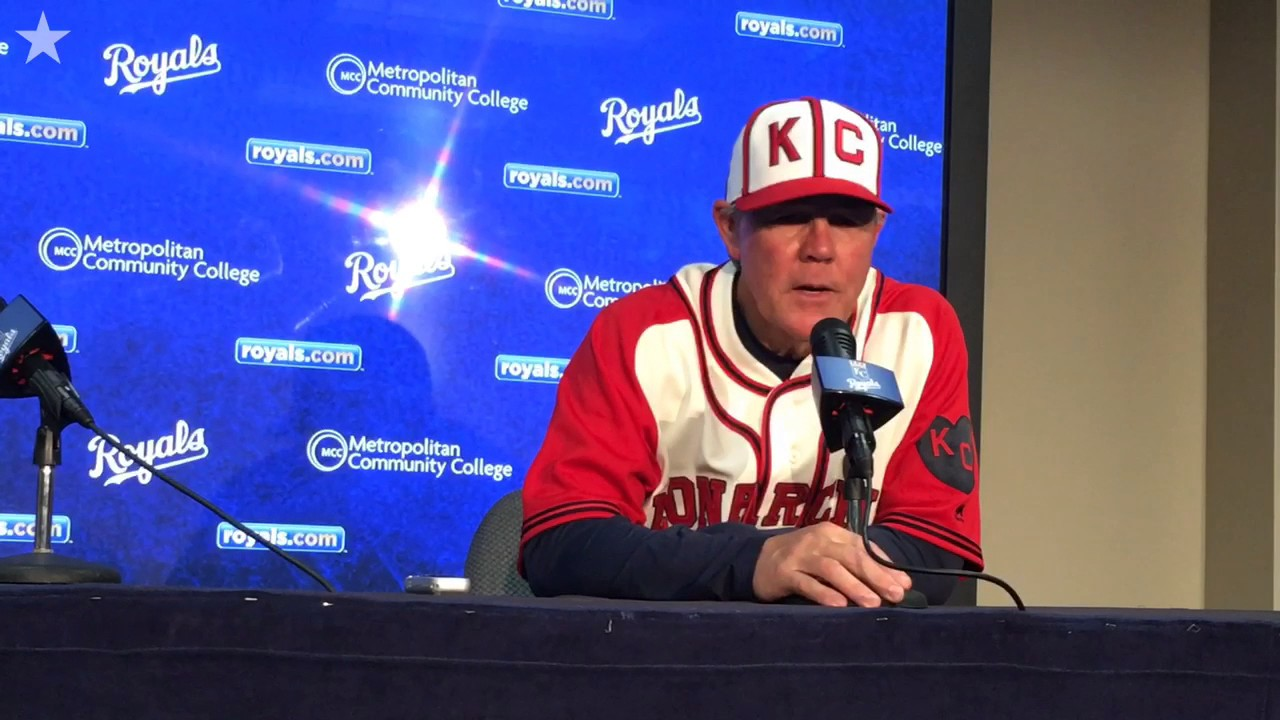 Royals manager Ned Yost on Danny Duffy, offensive struggles