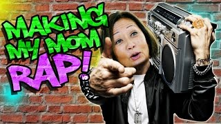 Making my Mom Rap like Eminem!