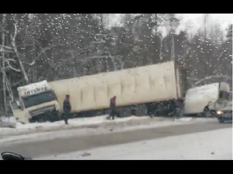 Аварии грузовиков Февраль 2015