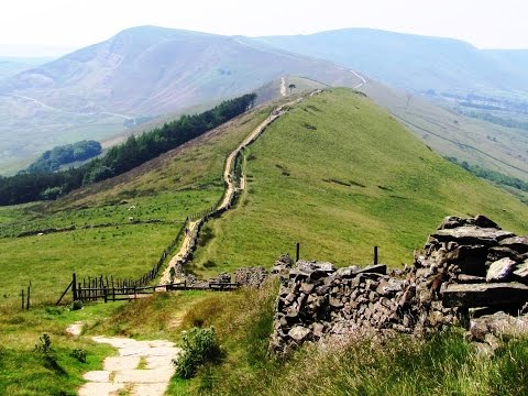 Castleton to Lose Hill and Mam Tor round | peak district  Walks