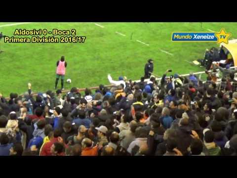 Aldosivi 0 - Boca 4 /Primera Division 2017 - La 12 - Boca Juniors