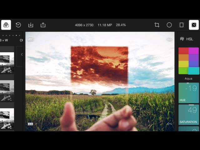 Polarr Photo Editor for iPhone/Android Preview