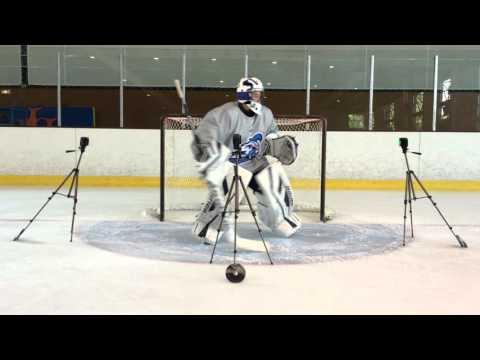 Test Agilité gardien - hockey sur glace
