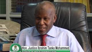Documentary on Hon.Justice Aloma Mariam Mukhtar, GCON..PART 4