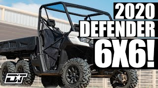 8. 2020 Can-Am Defender 6X6 DPS Walk Around & First Impressions