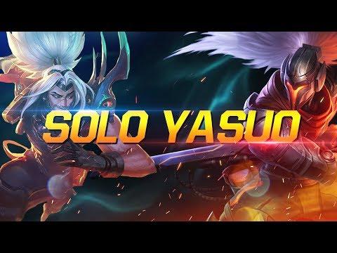 GIẢI ĐẤU SOLO YASUO CỦA CÁC CAO THỦ / MAIN YASUO SOLO