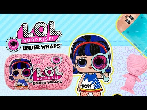 Play Doh & LOL Surprise Eye Spy Under Wraps • Muzeum • bajki dla dzieci