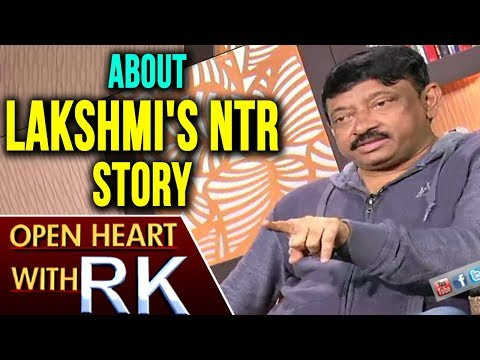 Ram Gopal Varma About Lakshmi's NTR Story | Open Heart With RK | ABN Telugu (видео)