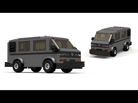 Custombricksets Lego Volkswagen T3 Vestfalia Moc Instructions