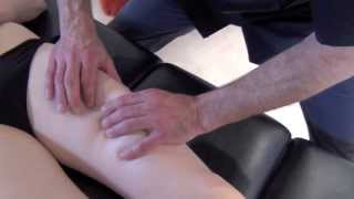 Massage du genou contre l'arthrose