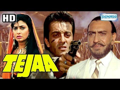 Tejaa (HD) - Sanjay Dutt | Kimi Katkar - 90's Hindi Full Movie - (With Eng Subtitles)