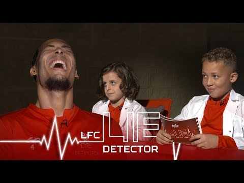 Video: Van Dijk takes Lie Detector Test | 'Ever picked your nose and eaten it?' | Kop Kids