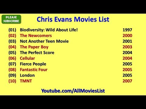 Chris Evans Movies List