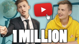 Video 1 MILLION D'ABONNÉS - TIM MP3, 3GP, MP4, WEBM, AVI, FLV Oktober 2017