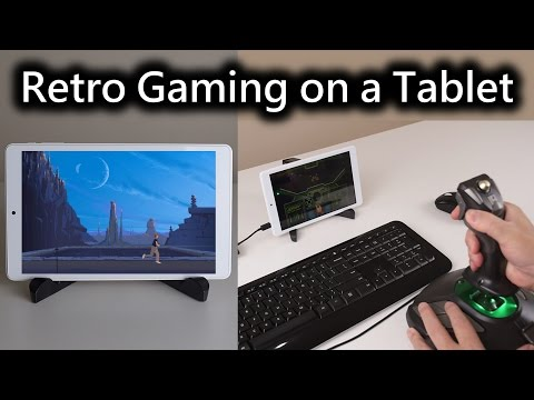 Retro Gaming on a Tablet PC