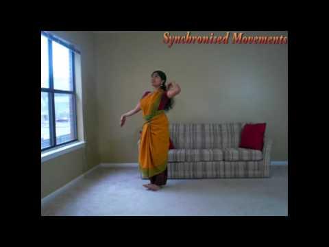 Sarikal Adavu in Bharatanatyam (Part 3)