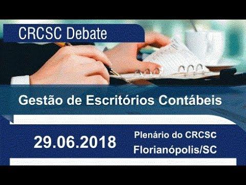 Debate CRCSC - Gestão do Escritório Contábil