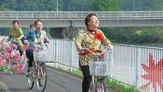 中津市×オバチャ-ン『サイクリング』編(15秒)