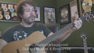 Guitar Lessons - Runnin' Down a Dream by Tom Petty - cover chords lesson Beginners Acoustic songs