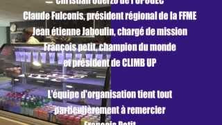 Bouc-Bel-Air France  city pictures gallery : Championnat de France UGSEL d'Escalade 2015