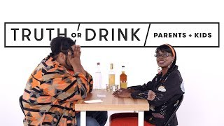 Video Parents & Kids Play Truth or Drink | Truth or Drink | Cut MP3, 3GP, MP4, WEBM, AVI, FLV Februari 2019