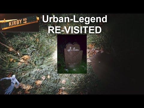 Kirby Road Roadside Memorial Re-Visited - Is the Urban-Legend / Creepypasta True? 10-18-2018