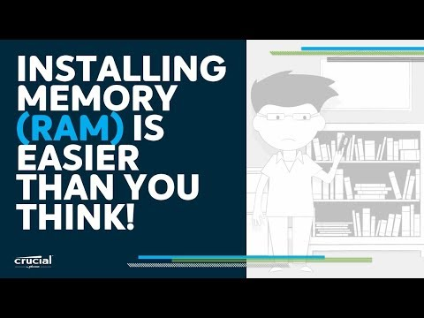 Installing memory is easier than you think